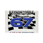 67 Musclecars Magnets
