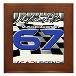 67 Musclecars Framed Tile