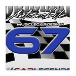 67 Musclecars Tile Coaster