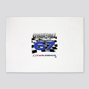 67 Musclecars 5'x7'Area Rug