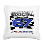 67 Musclecars Square Canvas Pillow