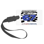 67 Musclecars Large Luggage Tag
