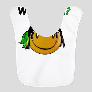 Wah gwan Jamaican designs Polyester Baby Bib