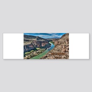 Cliff View of Big Bend Texas Nation Bumper Sticker