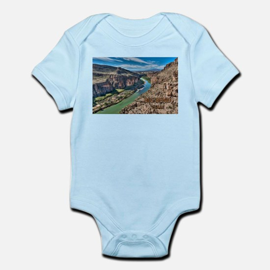 Cliff View of Big Bend Texas National Pa Body Suit