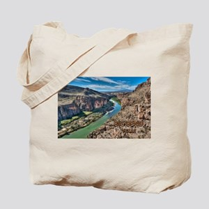 Cliff View of Big Bend Texas National Par Tote Bag