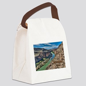 Cliff View of Big Bend Texas Nati Canvas Lunch Bag