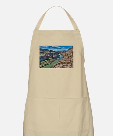 Cliff View of Big Bend Texas National Park a Apron