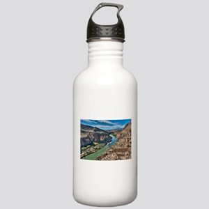 Cliff View of Big Bend Stainless Water Bottle 1.0L