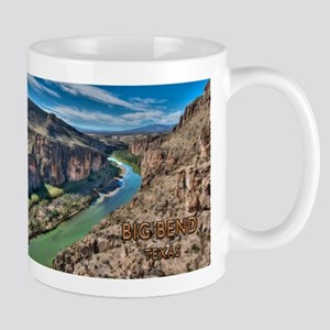 Cliff View of Big Bend Texas National Park an Mugs