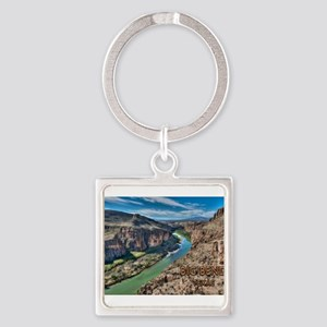 Cliff View of Big Bend Texas National Pa Keychains