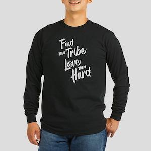 Find Your Tribe - BDSM Triskelion WHITE Long Sleev