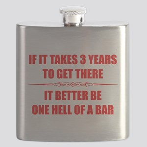 Bar Exam Law Student Gifts Flask