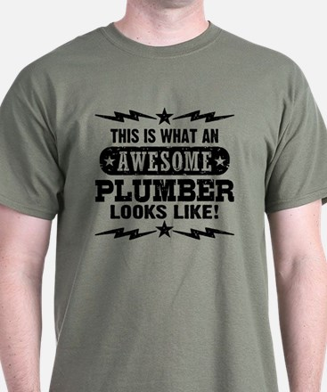 Awesome Plumber T-Shirt