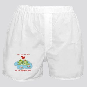 Hoppily ever after Boxer Shorts
