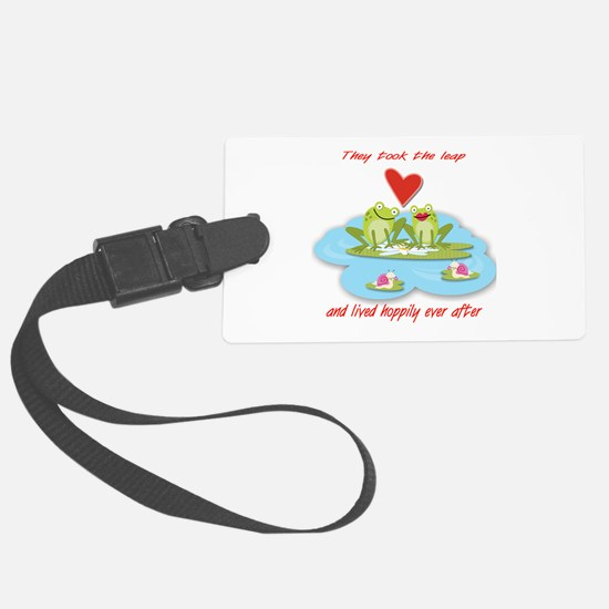 Hoppily Ever After Luggage Tag
