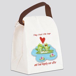Hoppily ever after Canvas Lunch Bag
