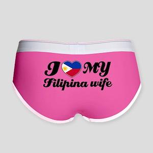 I love my filipina wife Women's Boy Brief