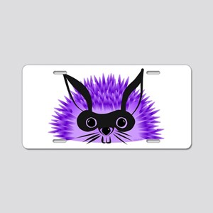 Redgy Hedgehog, Wild Hare! Aluminum License Plate