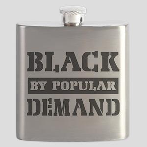 Black by popular design Flask