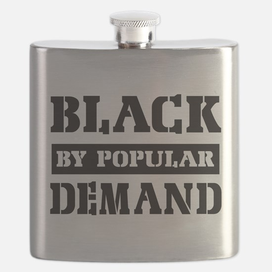 Black by popular design Flask