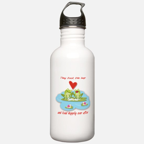 Hoppily ever after Water Bottle