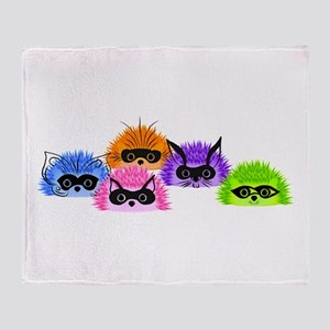 Prickle Party Throw Blanket