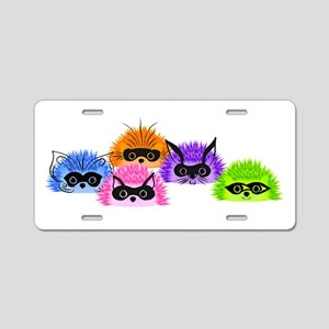 Prickle Party Aluminum License Plate