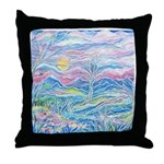 Pastel Country A (enc) Throw Pillow