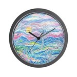 Pastel Country A (enc) Wall Clock