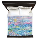 Pastel Country A (enc) King Duvet