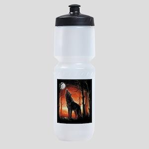Howling Wolf Sports Bottle