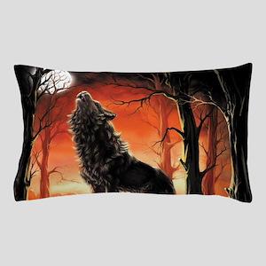 Howling Wolf Pillow Case