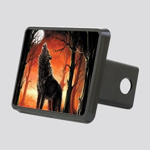 Howling Wolf Hitch Cover