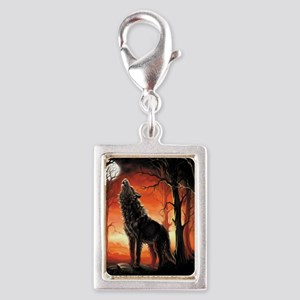 Howling Wolf Charms