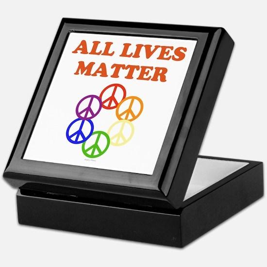 All Lives Matter Keepsake Box