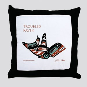 The Third Killer Whale Throw Pillow