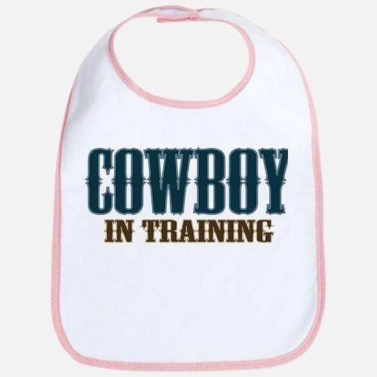Cowboy In Training Bib