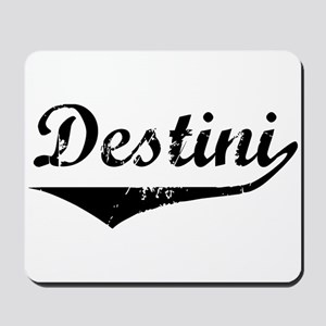 Destini Vintage (Black) Mousepad