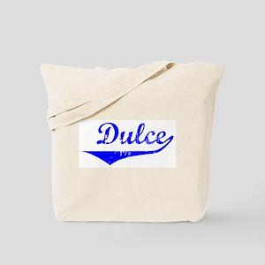 Dulce Vintage Blue Tote Bag