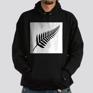 Silver Fern of New Zealand Hoodie (dark)