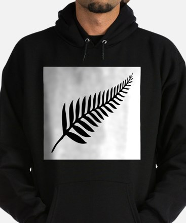 Silver Fern of New Zealand Hoodie (dark)
