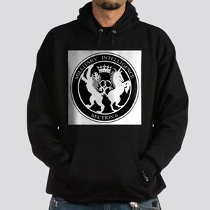 MI6 Logo Hoodie (dark)