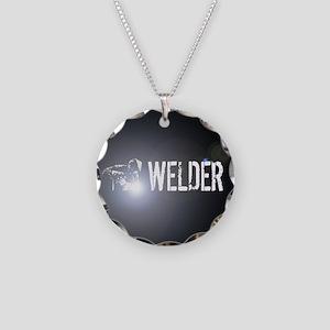 Welding: Stick Welder Necklace Circle Charm