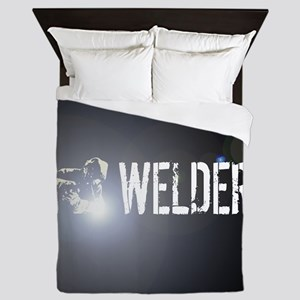Welding: Stick Welder Queen Duvet