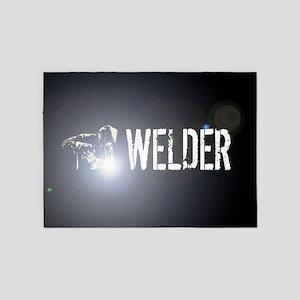 Welding: Stick Welder 5'x7'Area Rug