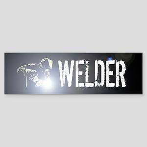 Welding: Stick Welder Sticker (Bumper)