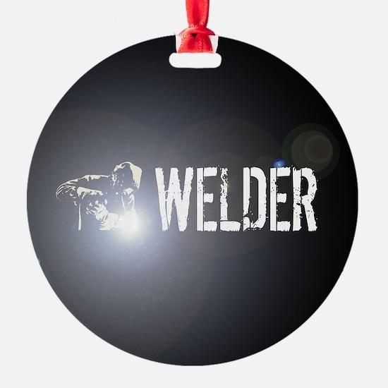 Welding: Stick Welder Ornament