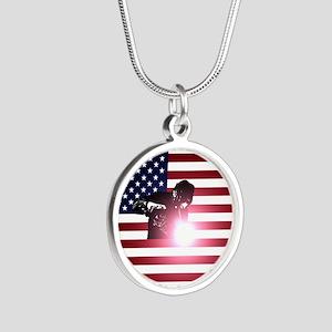 Welding: Welder & American Flag Necklaces