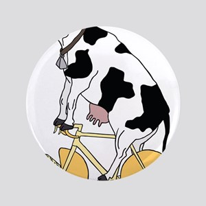 Cow Riding Bike With Cheese Wheel Wheels Button
